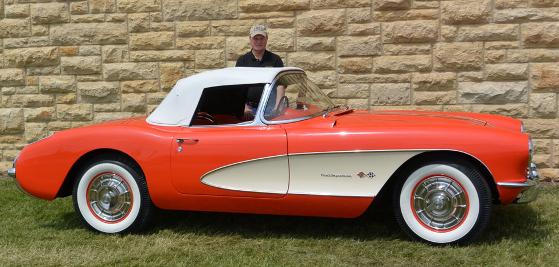 Dave & Jeanne Cloutier car